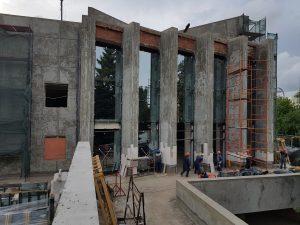 Устройство фасада и наружние работы