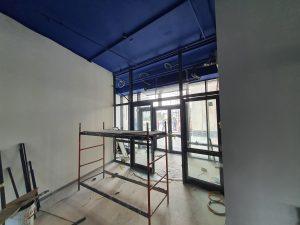 Внутренние работы: устройство стен, пола и потолка